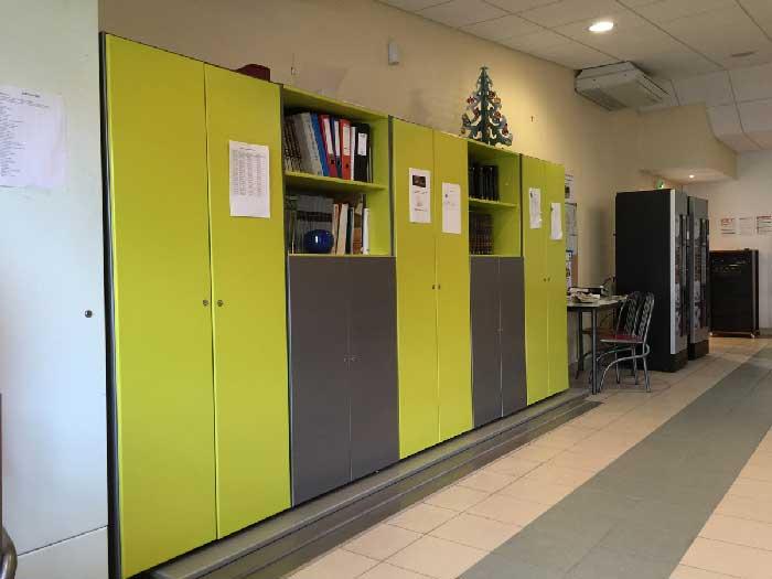 mobilier intérieur de l'ESAT
