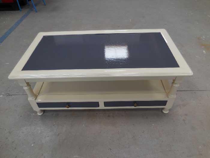 mobilier en bois rénové