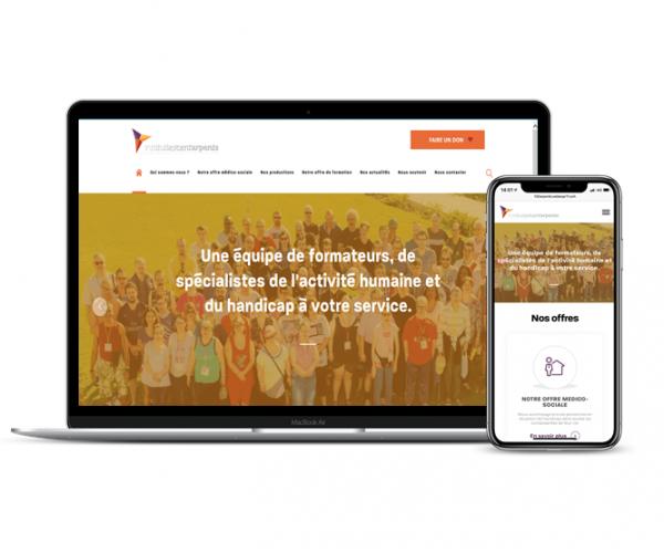 visuel nouveau site web 100arpents